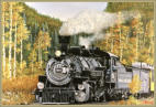 Train Oil Painting - Jack Olson Fine Art