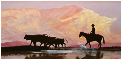 Western Oil Painting from Jack Olson Fine Art